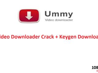Ummy Video Downloader Crack + Keygen Download Free