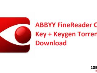 ABBYY FineReader Crack Key + Keygen Torrent Download