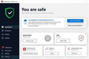 Bitdefender Total Security 2021 Key