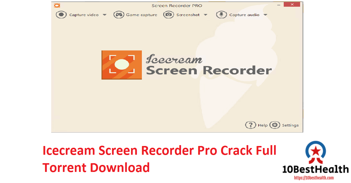 Icecream Screen Recorder Pro Crack Full Torrent Download