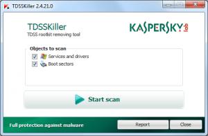 Kaspersky TDSSKiller Key