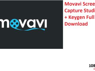 Movavi Screen Capture Studio Crack + Keygen Full Download