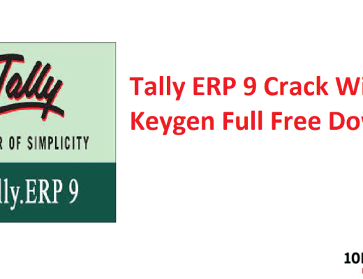 Tally ERP 9 Crack With Keygen Full Free Download