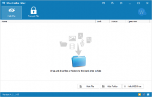 Wise Folder Hider Serial Key