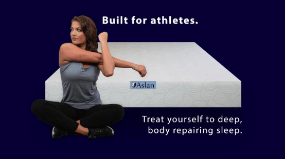 Aslan Mattress Built For Athletes