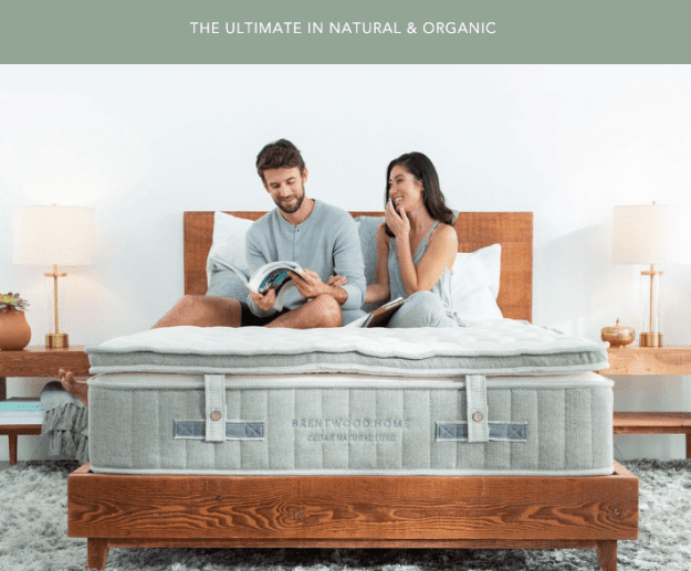 brentwood homes mattress Cedar Natural luxe