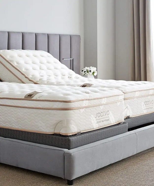 Saatva split adjustable bed