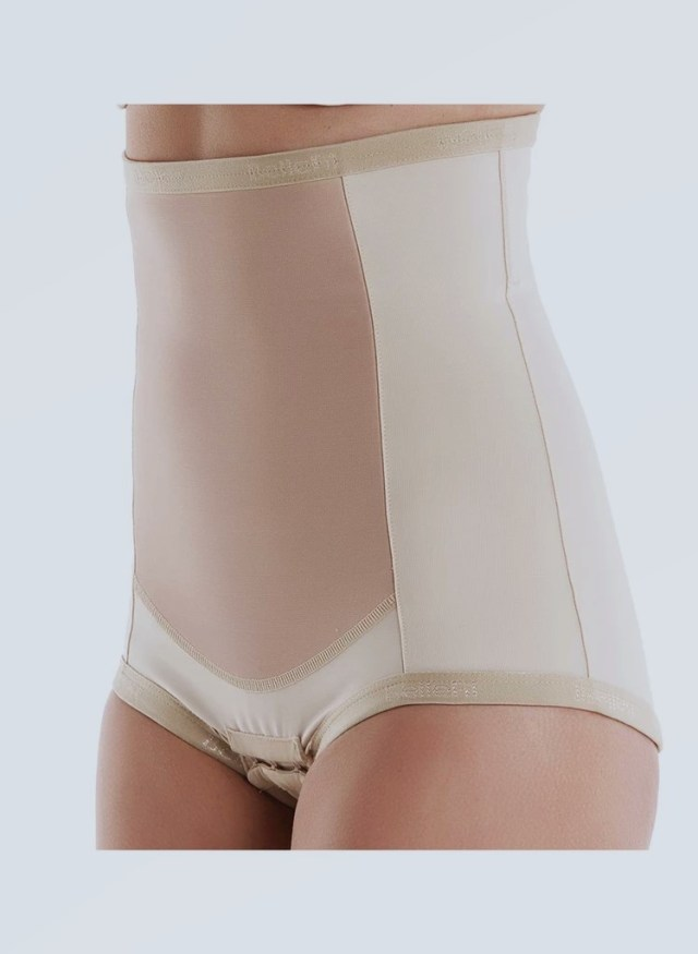 Bellefit postpartum Girdle following Zipper, Medical-Grade, Compression & Support