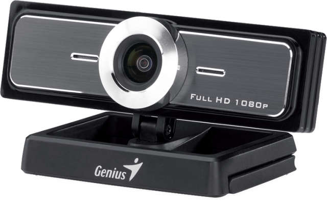 Genius WideCam F100 With The Ultra Wide Angle Webcam