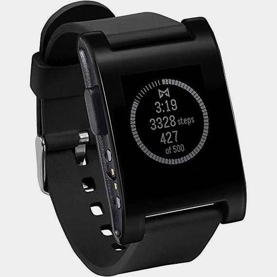 Pebble Time Smartwatch-Cheap and Simple