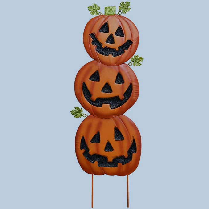 Gift Boutique Stacked Metal Set of 2 Halloween Decoration