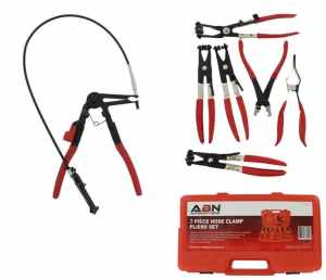 ABN Flexible Hose Cable Clamp Pliers Tool Set 7 Piece Kit review