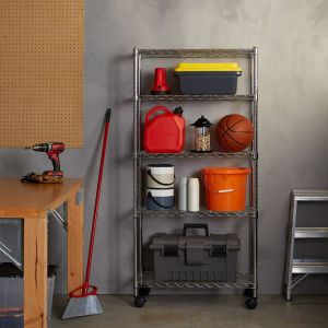 AmazonBasics 5-Shelf Shelving Unit review