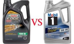 Castrol Edge vs Mobil 1 review