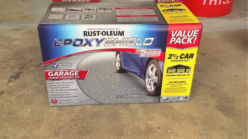 Rust-Oleum Epoxy Garage Kit