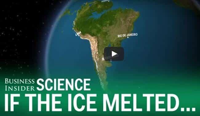 Πως θα ήταν η Γη αν έλιωνε όλος ο πάγος