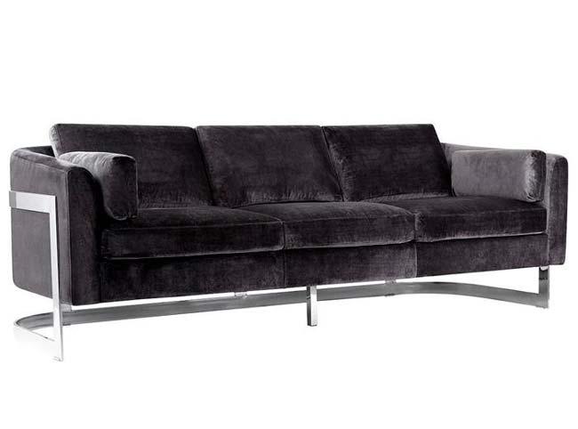 Καναπέδες από βελούδο που προσθέτουν στιλ