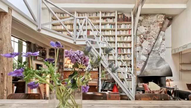 Σύγχρονες ιδέες για τη βιβλιοθήκη στο σπίτι