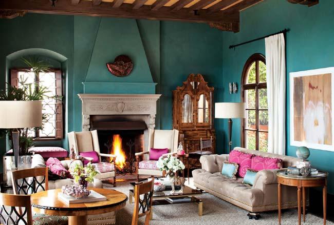 Ερωτευτείτε το χρώμα στη διακόσμηση στο σπίτι