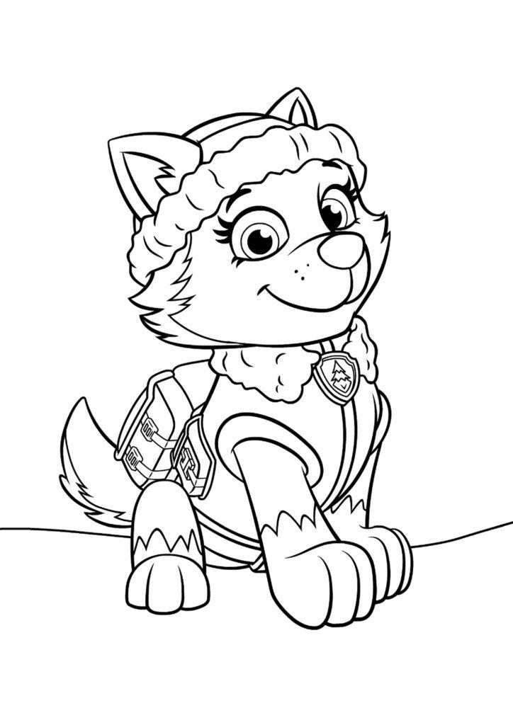 Desenho dezuma de patrulha canina para colorir zuma de patrulha canina. Dibujos de paw patrol para colorear en linea
