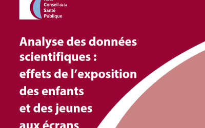 (Français) Effets de l'exposition aux écrans : le rapport du HCSP