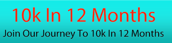 Part two of joining our journey to 10k in 12 months