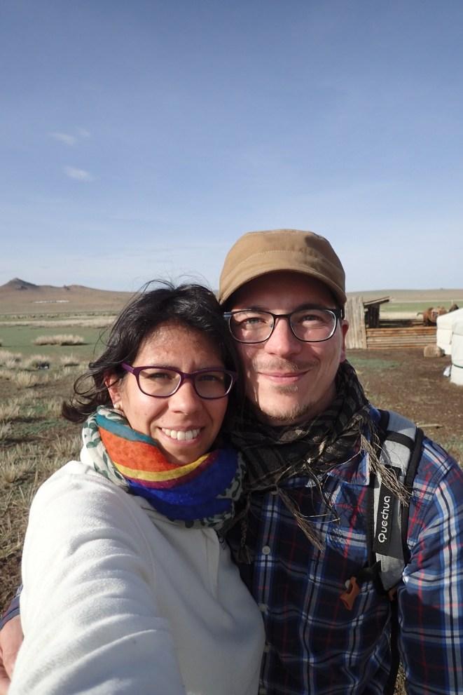 Selfie dans les steppes