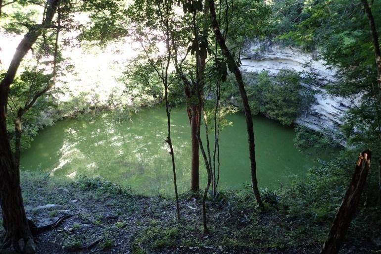 Cenote sacrée