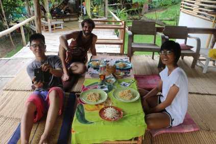 cours de cuisine Thai.