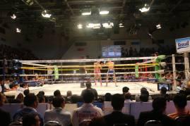 combat de Muay Thai à Channel 7