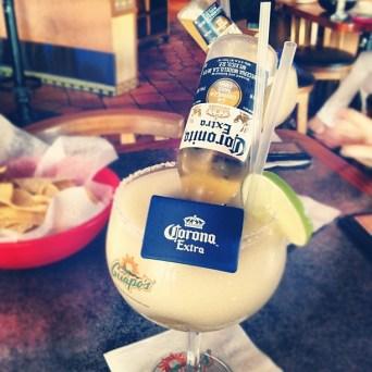 summer drink beergarita