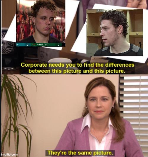 joel eriksson ek vs charlie coyle