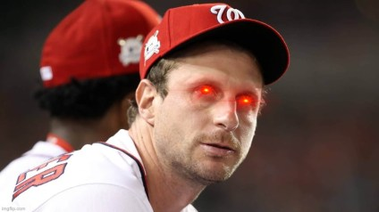 Max Scherzer about that action when it comes to foreign substances
