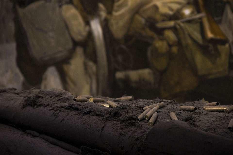 savaş alanı, boş kovan, cephe