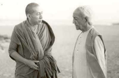 Jiddu Krishnamurti ve Rinpoche