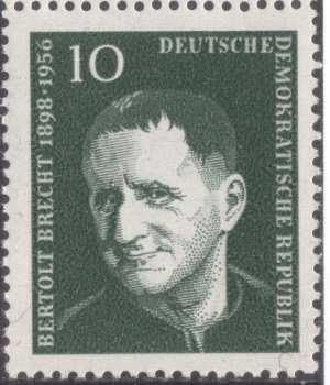 Bertolt Brecht pul