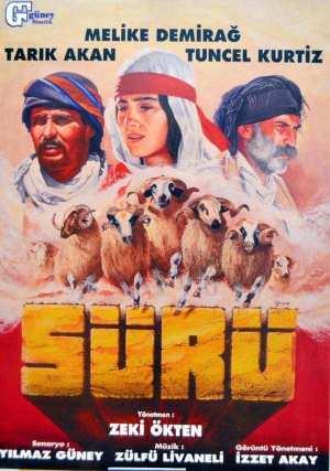 Sürü film afişi, Yılmaz Güney