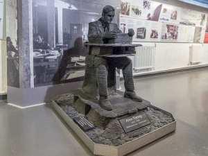 alan turing bletchley park heykeli