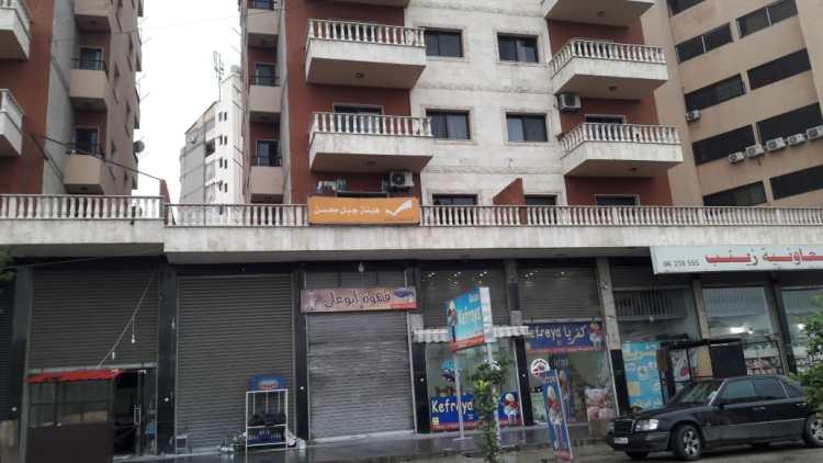 إغلاق مكتب التيار الوطني الحر في جبل محسن طرابلس