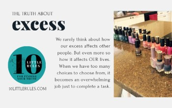 the truth about excess