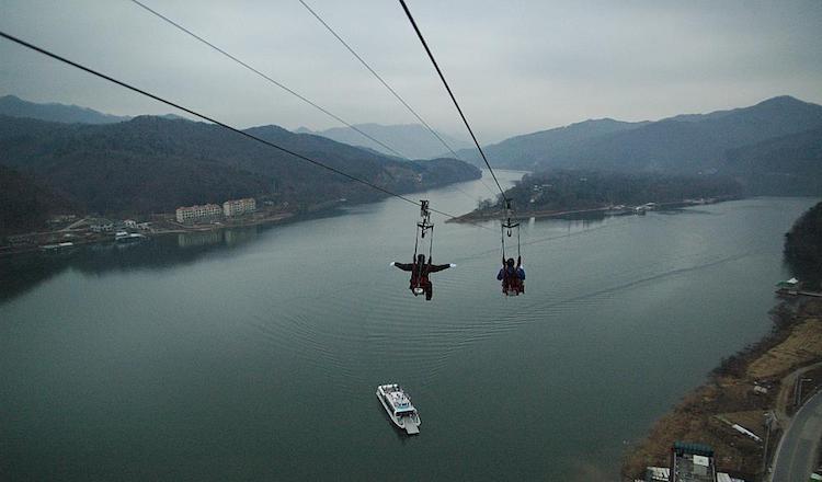 Nami Island Zipline | Gapyeong-gu, Gyeonggi-do