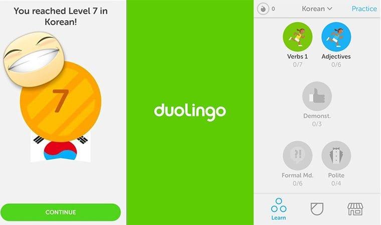 10 OF THE BEST FREE KOREAN LEARNING APPS Duolingo
