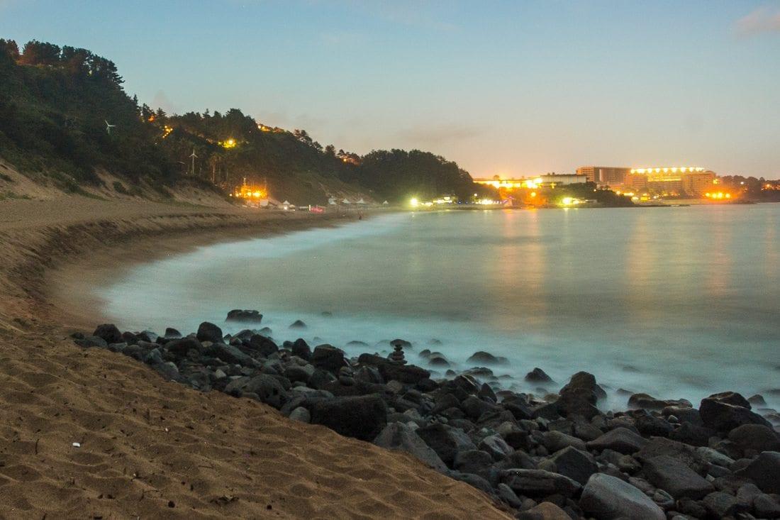 best jeju beaches jungmun beach