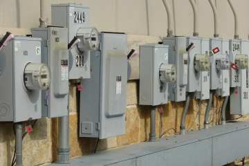 electric meter boxes