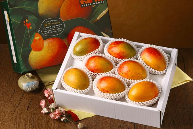 chuseok gift sets mango