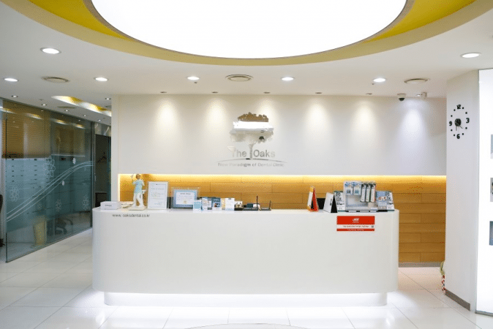 English speaking Dentists in Seoul, Korea the oaks dental office