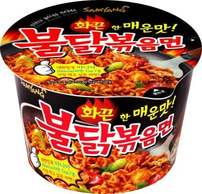 Buldalgbokk Eummyeon 불닭볶음면 korean ramen guide