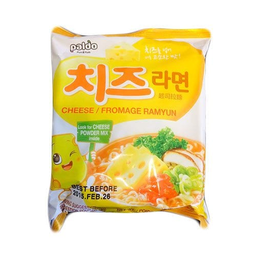 Cheese Paldo Ramen 치즈 korean ramen guide