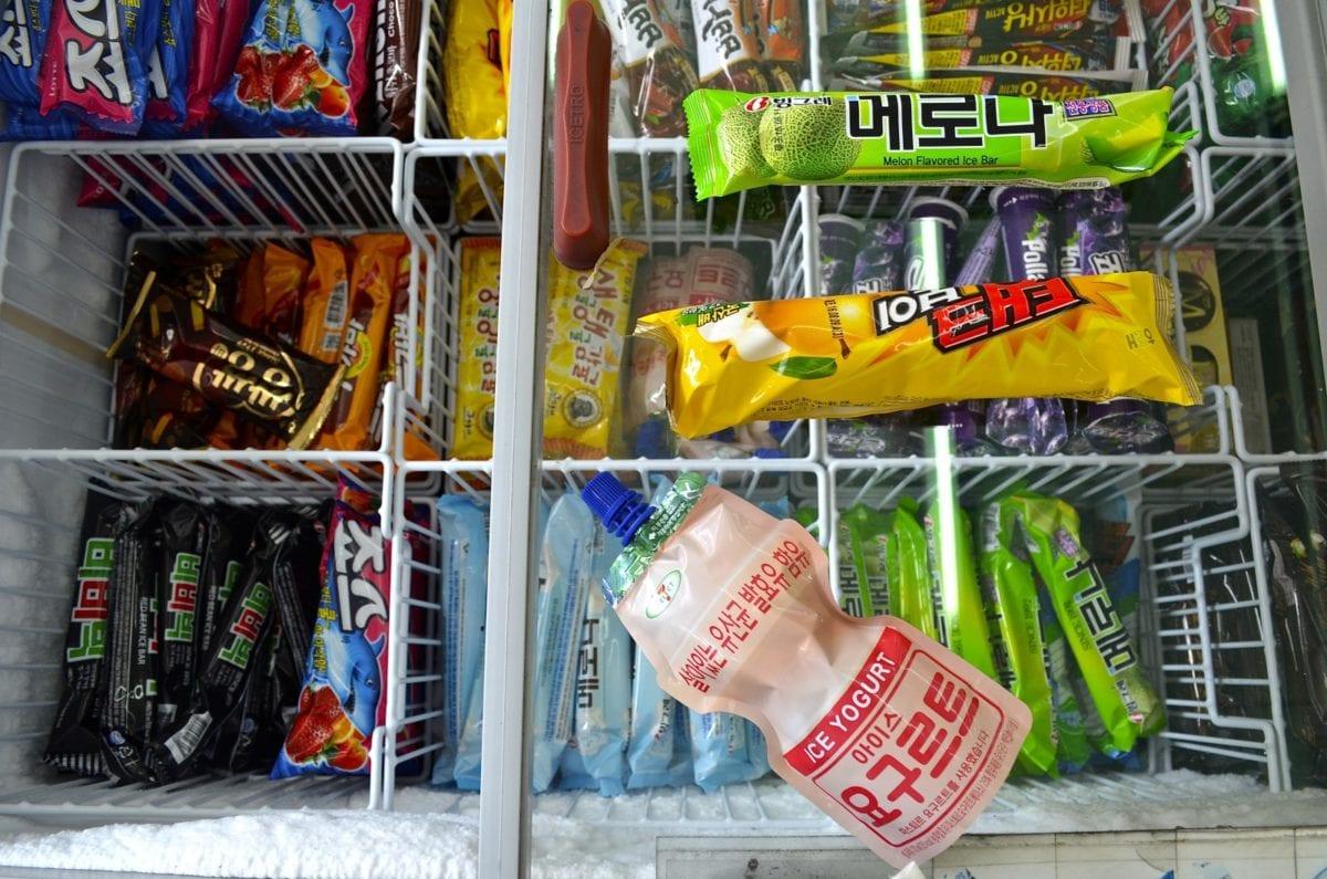 korean convenience stores ice cream
