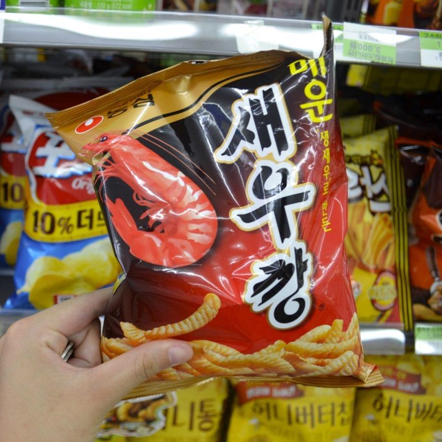 korean convenience stores shrimp fries